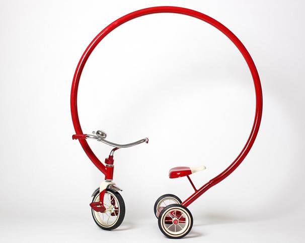 забавная рама для велосипеда